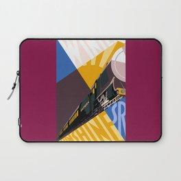 Travel South for Winter Sunshine Laptop Sleeve