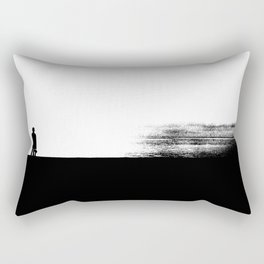 The Girl and The Sea Rectangular Pillow