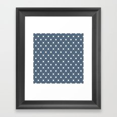 Geometric Pattern #160 Framed Art Print