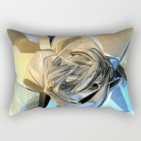 Abstract Macro Structure Rectangular Pillow