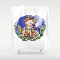 hobbit Shower Curtains featuring Hobbit by Kris-Tea Books