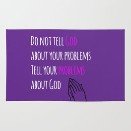 Problems and God Rug