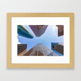 In a world of giants Framed Art Print