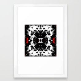 Flowers From Hell Framed Art Print