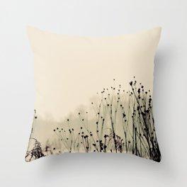 Winter Solstice III Throw Pillow