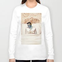 infamous Long Sleeve T-shirts featuring Arsenic and Old Lace by Alec Goss