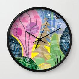 Fluttering Heart Wall Clock