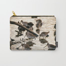 Sand Pipers At Sunset Carry-All Pouch
