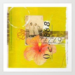 Agnes & Annie Art Print