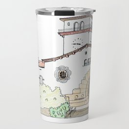 Santa Barbara County Courthouse Travel Mug