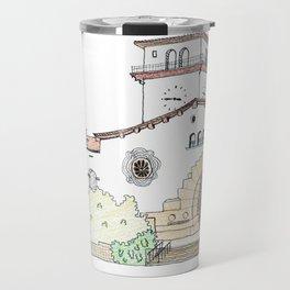 Santa Barbara County Courthouse Travel Mug