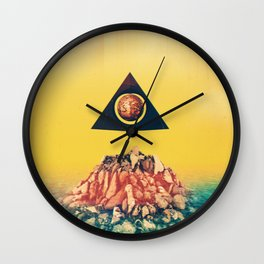Anaglyph Wall Clock