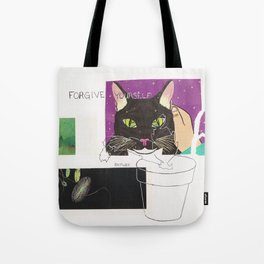 forgive yourself anyway Tote Bag