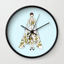 Audrey Vintage Retro Fashion 2 Wall Clock