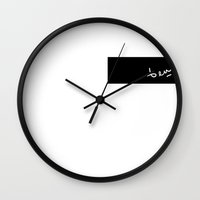 ben giles Wall Clocks featuring ben by bybenjamin