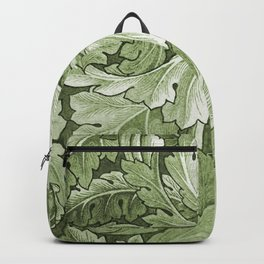 Celery Green Acanthus Plant Backpack