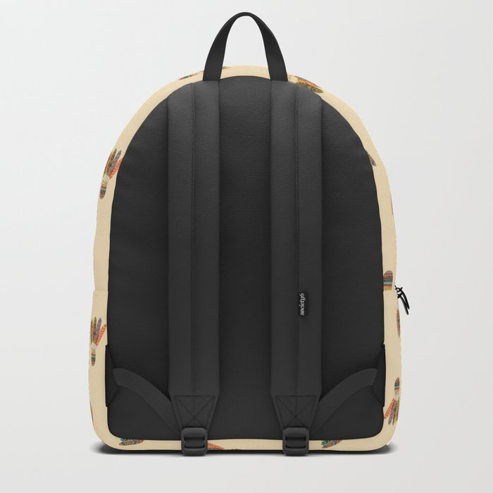 Rustic shuttlecock Backpack