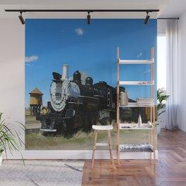 Old Steam Engine - Denver - Rio Grande Railroad Wall Mural