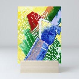 Dancing Geometry Mini Art Print