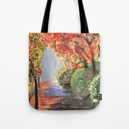 Walk Way Tote Bag