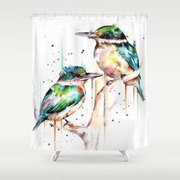 Kingfishers Shower Curtain