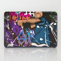 hip hop iPad Cases featuring Hip Hop Star by nick green