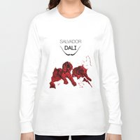 dali Long Sleeve T-shirts featuring DALI by Ruben Mangorrinha