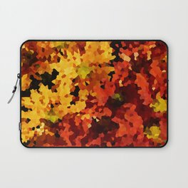 Yellow and Red Sunflowers Laptop Sleeve