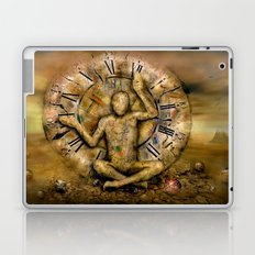 Meditation time Laptop & iPad Skin