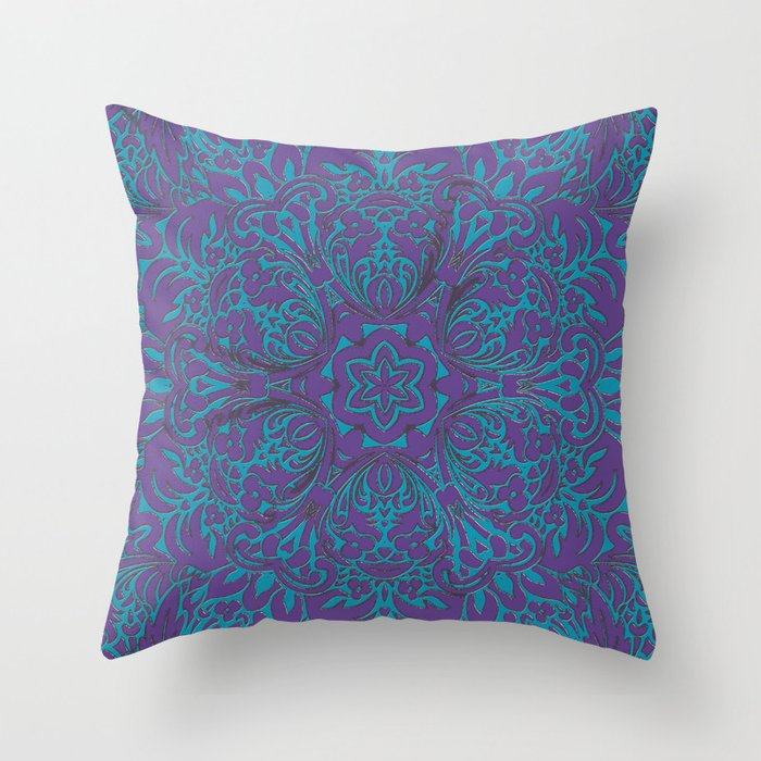 Moroccan Style Decor Throw Pillow By