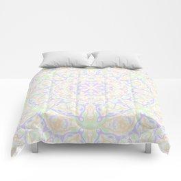 Pastel Kaleidoscope 2 Comforters