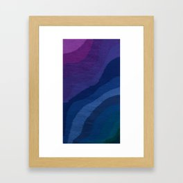 Deep, Cool Water Framed Art Print