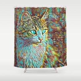 ColorMix Kitten 1 Shower Curtain