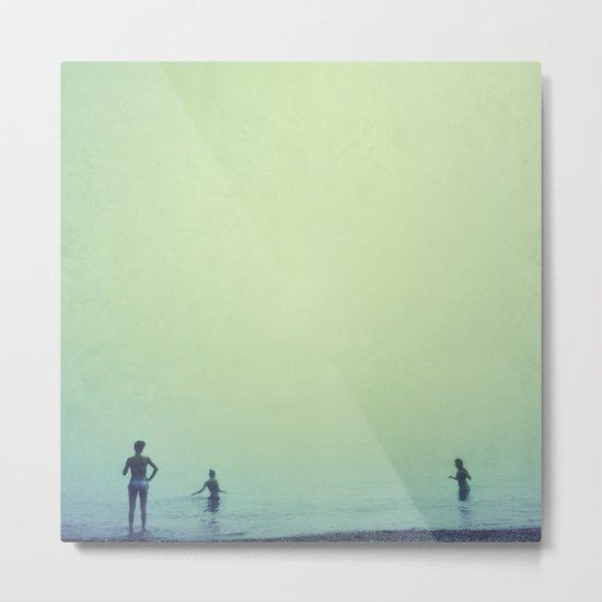 Tree women. Sea dreams Metal Print