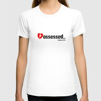 three of the possessed T-shirts featuring Possessed by EvangeLines Clothing