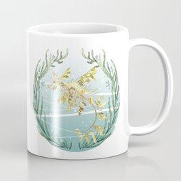 Leafy Seadragon in Gold Coffee Mug