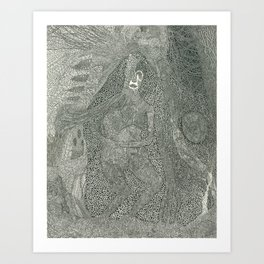 Mother's Brain Art Print