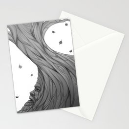 The Gods are always watching Stationery Cards