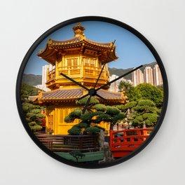 Pavilion of Absolute Perfection, Nan Lian Garden, Hong Kong Wall Clock