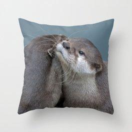 Big Hugs Throw Pillow