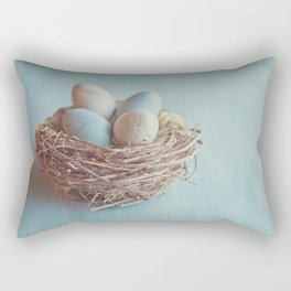 Spring Nest Rectangular Pillow
