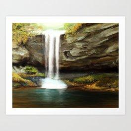 Cloudland Canyon Art Print