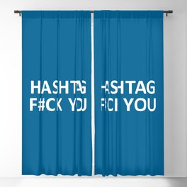 F#ck You Funny Quote Blackout Curtain