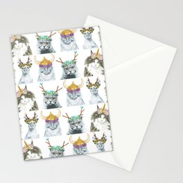 KITTY CATS 1 Stationery Cards