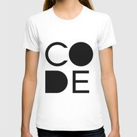 code T-shirts featuring CODE by Nelson Marteleira