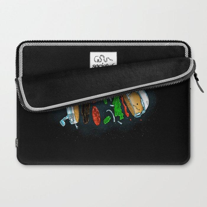 The Astronaut Burger Laptop Sleeve