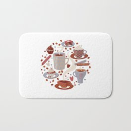 Coffee Time.. Bath Mat
