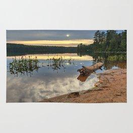 Nicks Lake Sunset Rug