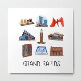 Grand Rapids Metal Print
