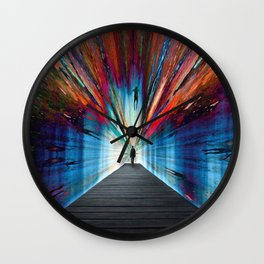 Conquer Your Fears Wall Clock